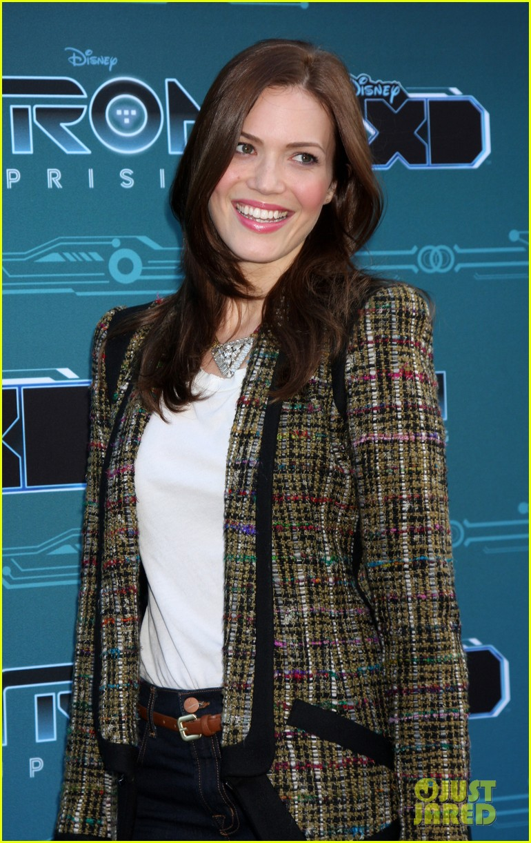mandy moore tron uprising press event 052661475