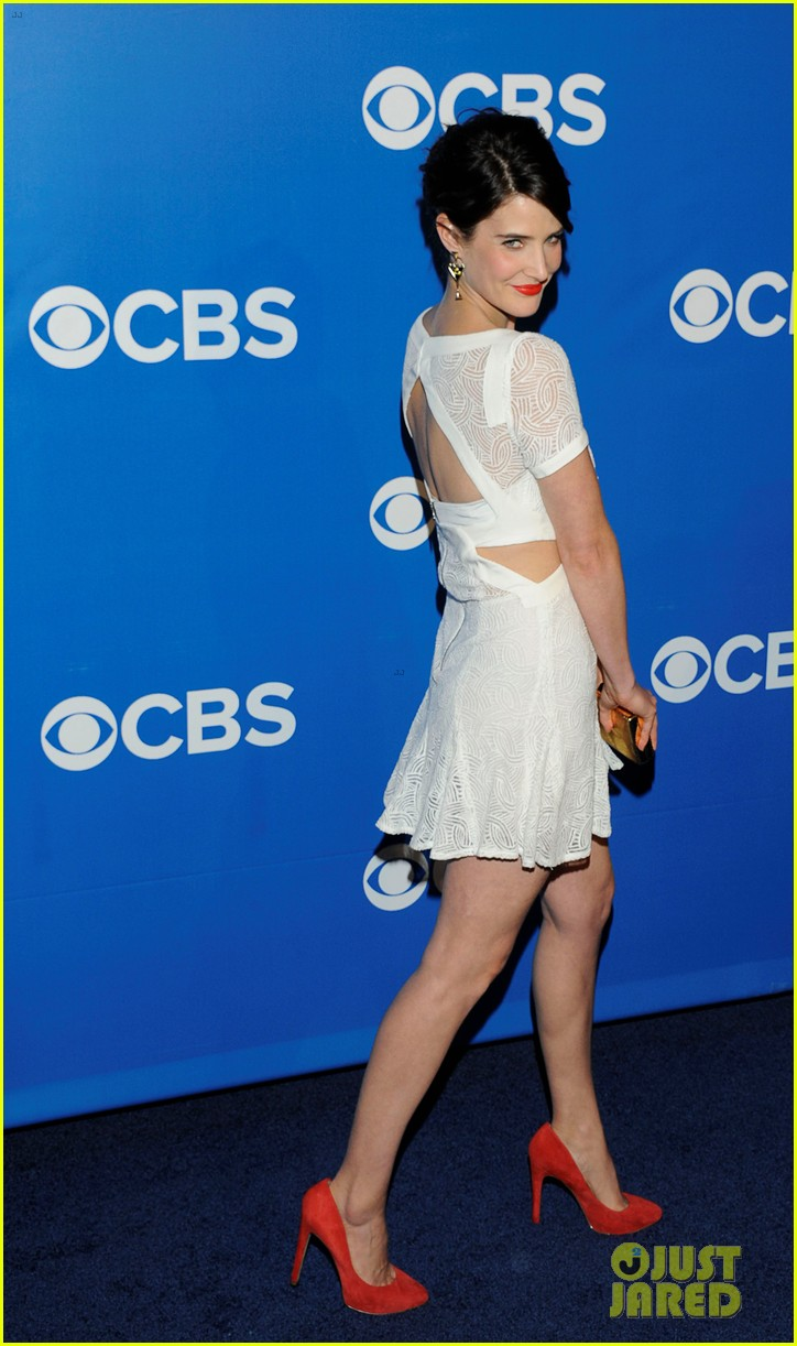bridget moynahan cobie smulders cbs upfront 08