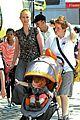 cynthia nixon christine marinoni family stroll 03