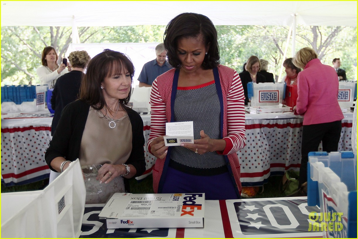michelle obama celebrates military spouses mothers 052660269