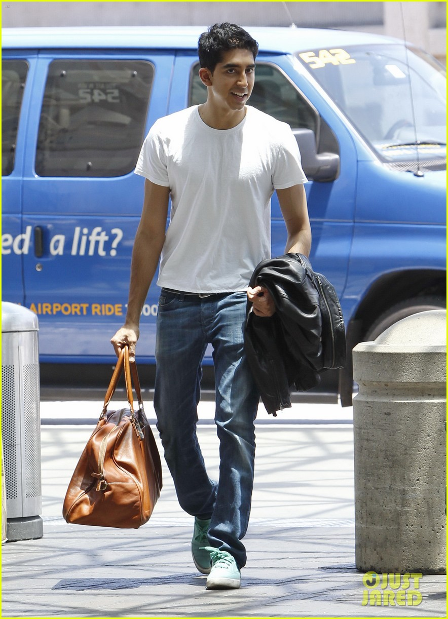 dev patel leaving lax 01