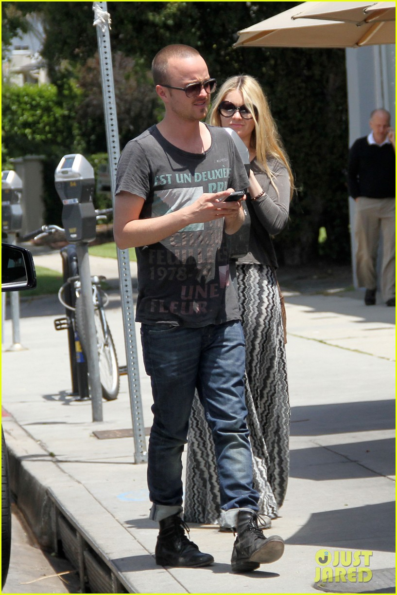 aaron paul toast lunch 042660692