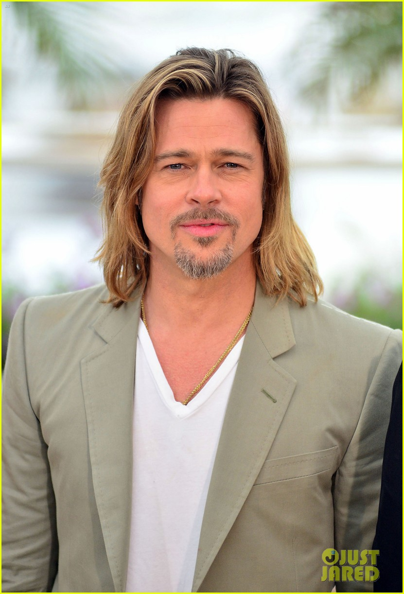 brad pitt cannes photocall 022665213