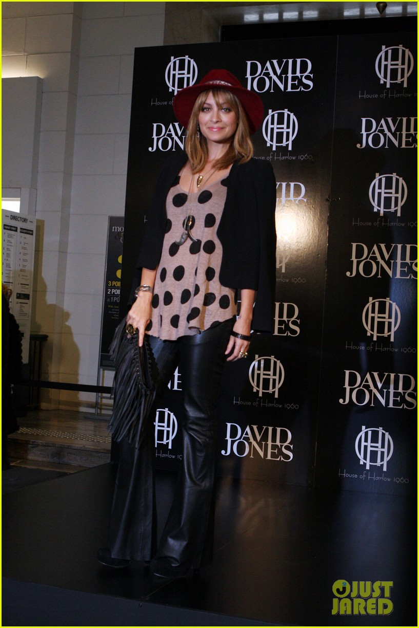 nicole richie line launch david jones 03