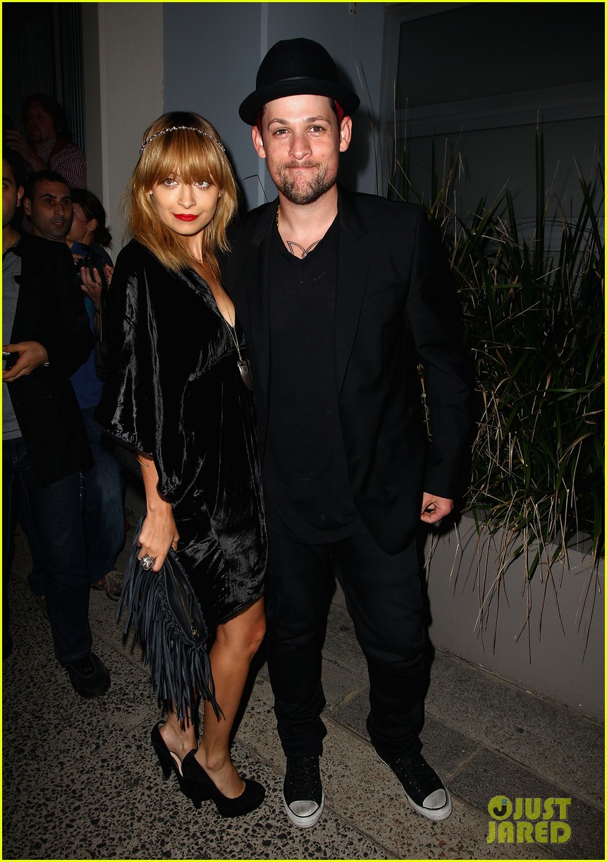 nicole richie joel madden the voice sydney launch party 032660013