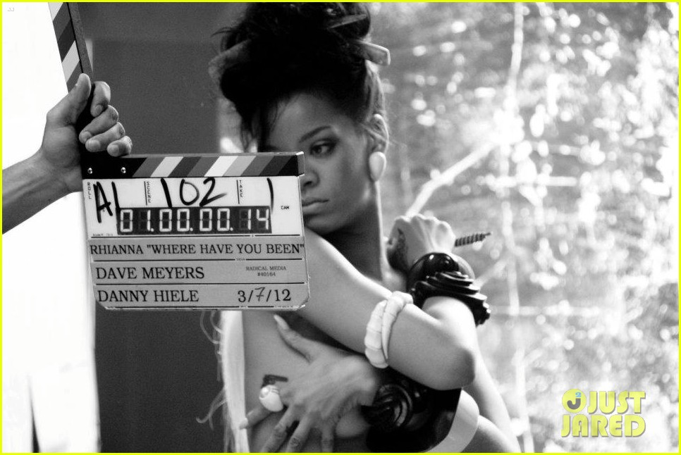 rihanna where have you been behind the scenes 156
