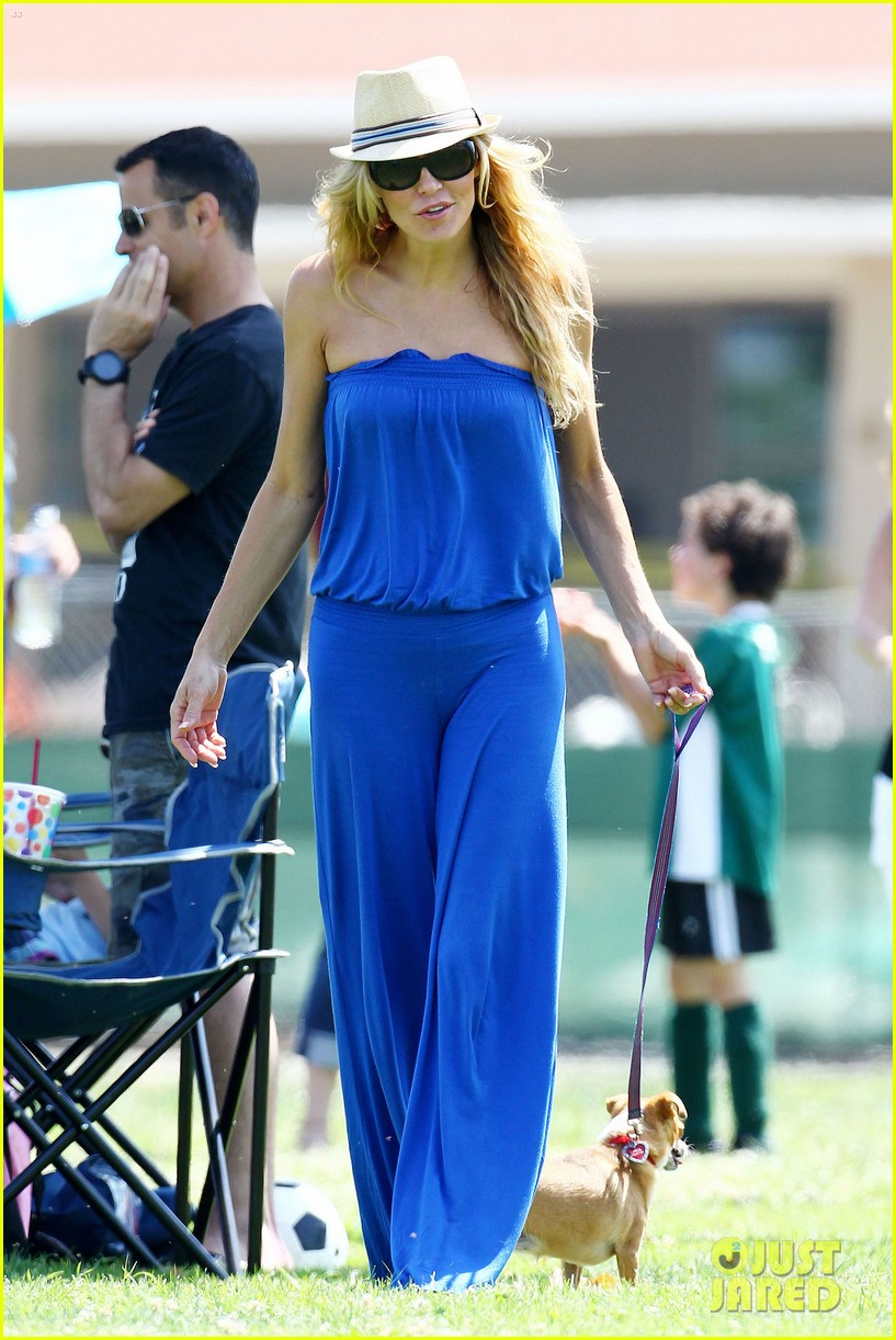 leann rimes soccer game 15