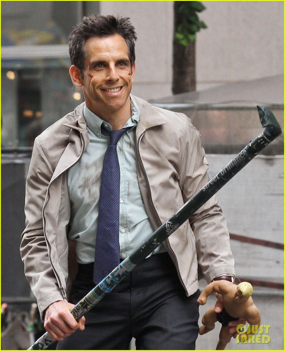 ben stiller skateboarding mitty set 022667986