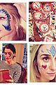 taylor swift face paint butterfly 01