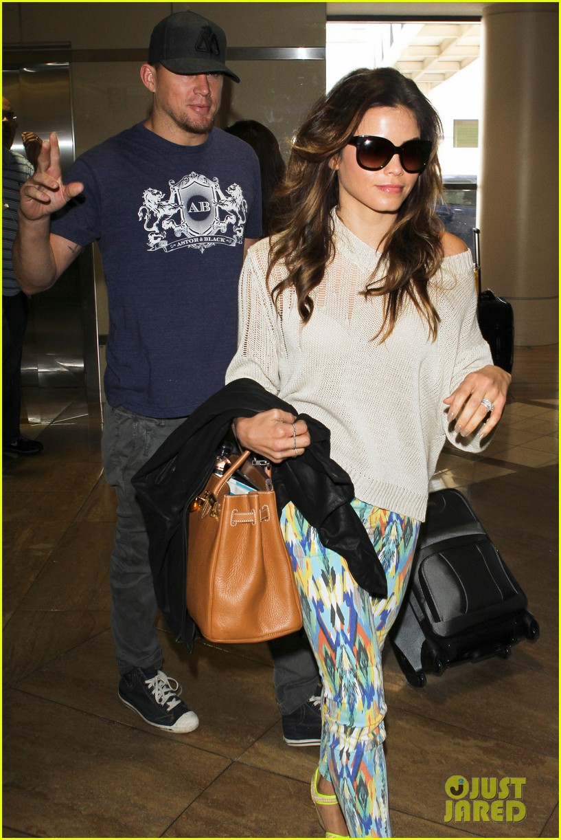 channing jenna leaving lax 08