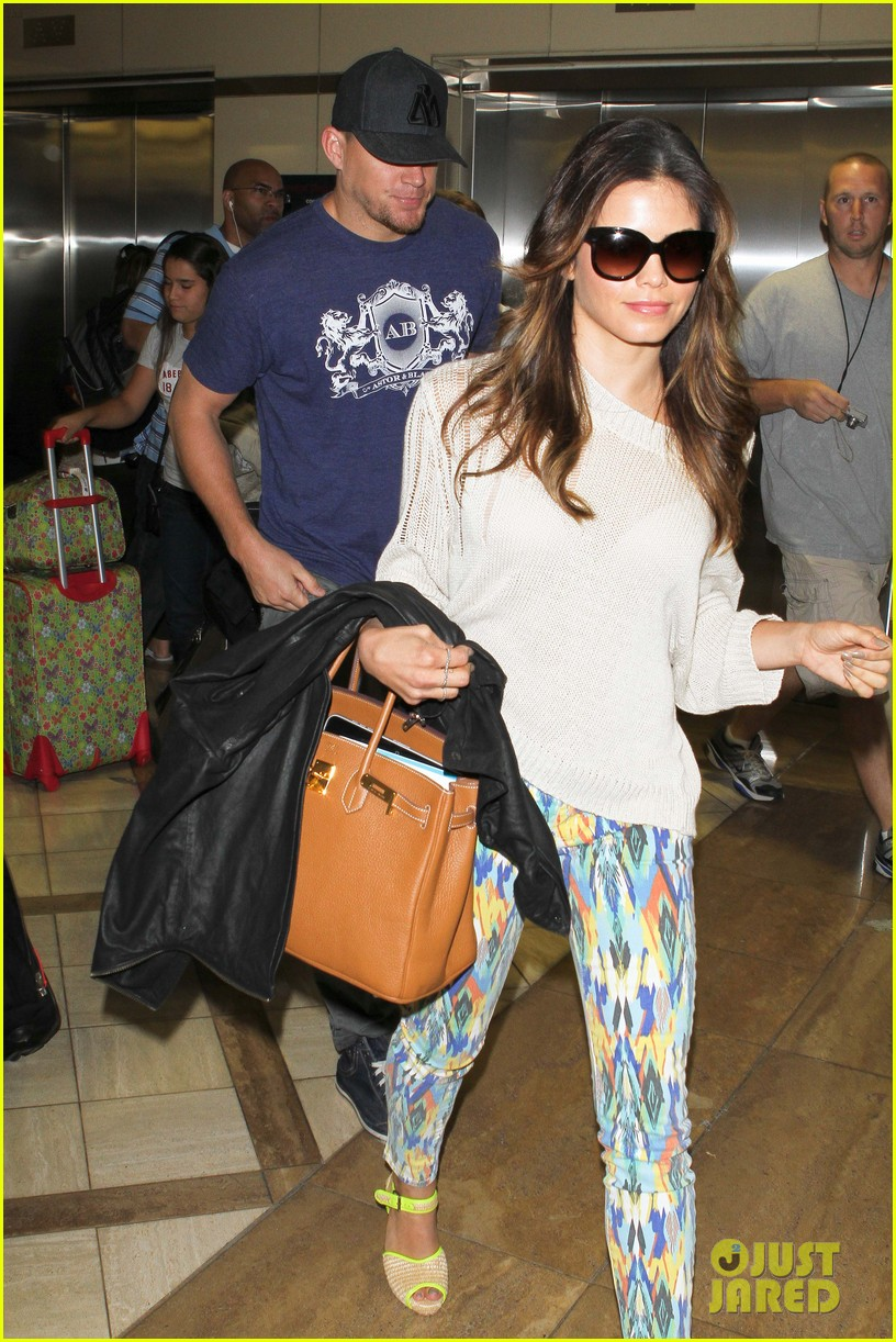 channing jenna leaving lax 13