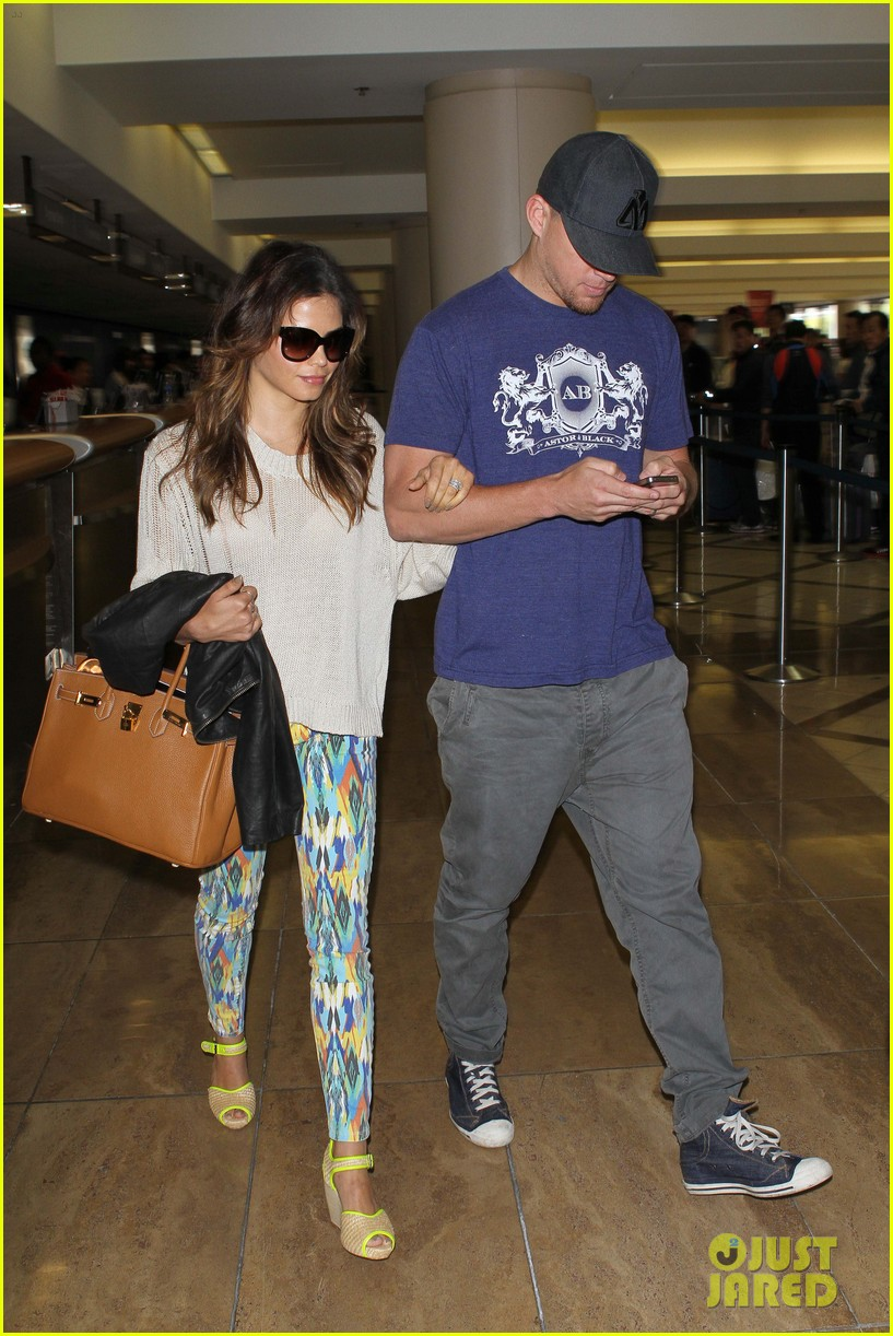 channing jenna leaving lax 142664637