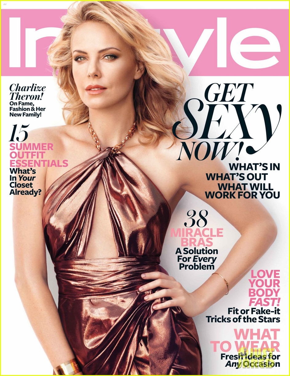 charlize theron instyle june 2012