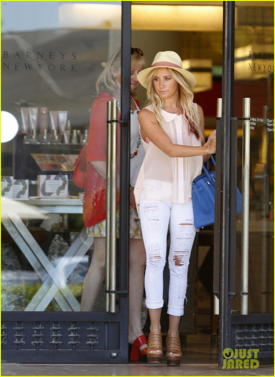 ashley tisdale barneys ny 01