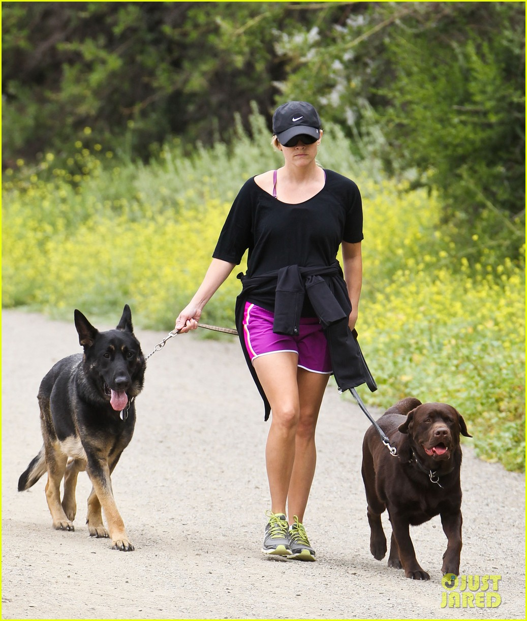 reese witherspoon dog walking lax 032657159