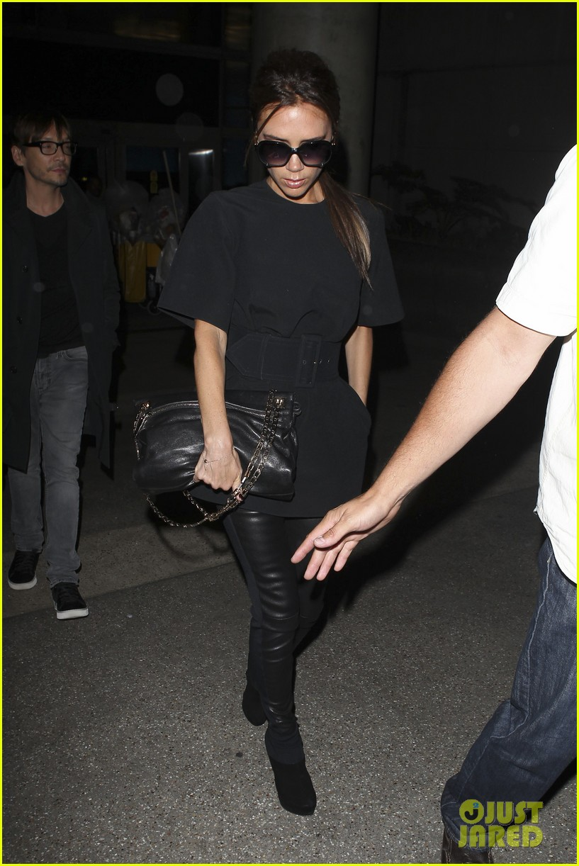 victoria beckham from london to lax 09