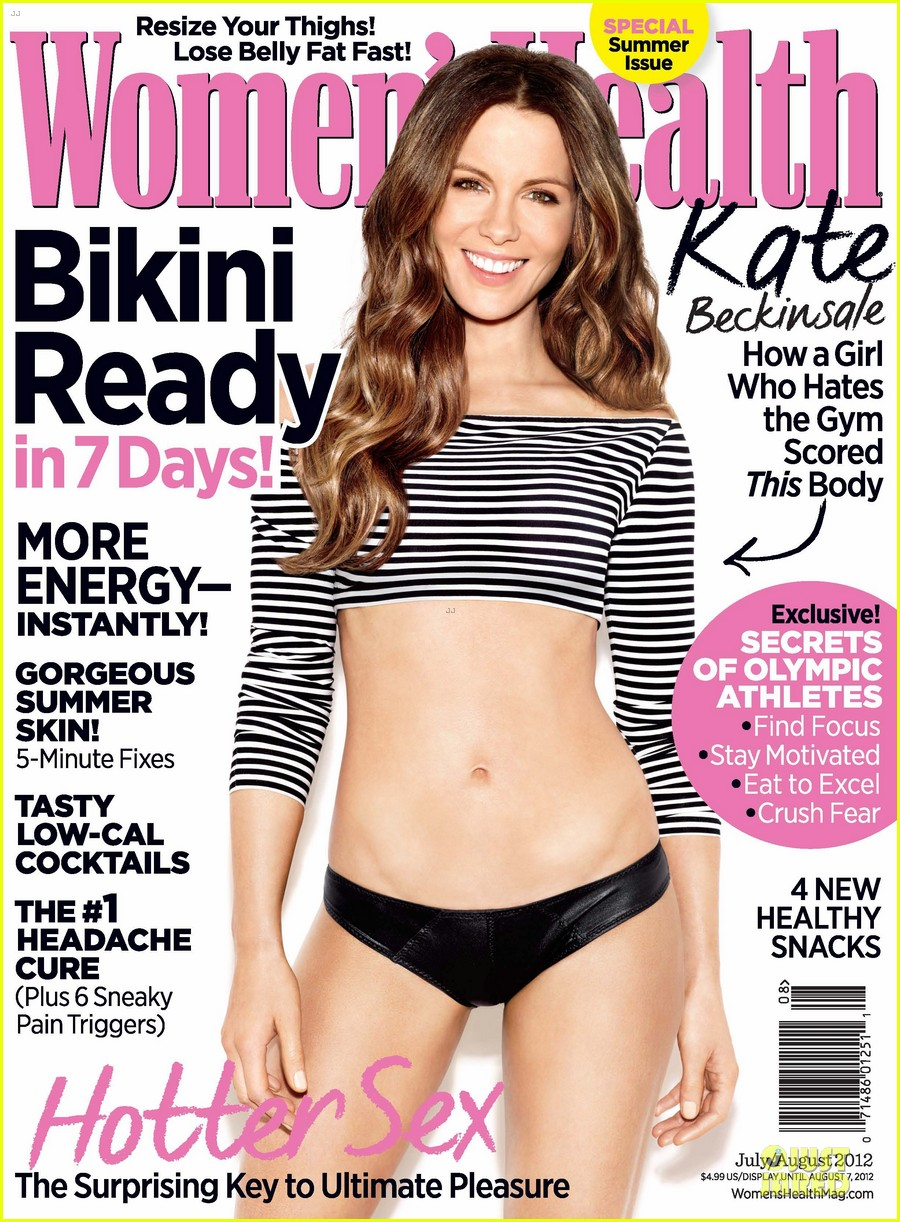 kate beckinsale womens health june july 2012