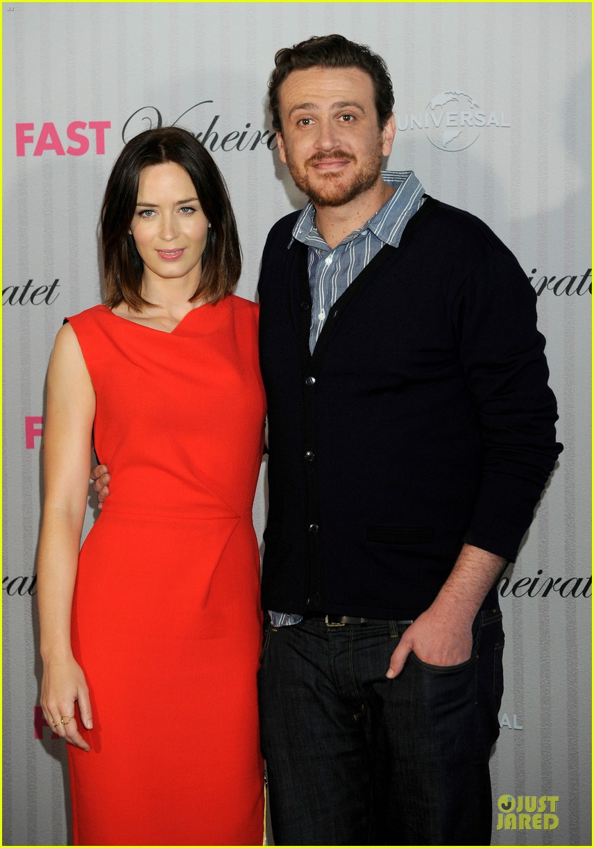 emily blunt jason segel five year engagement germany 06