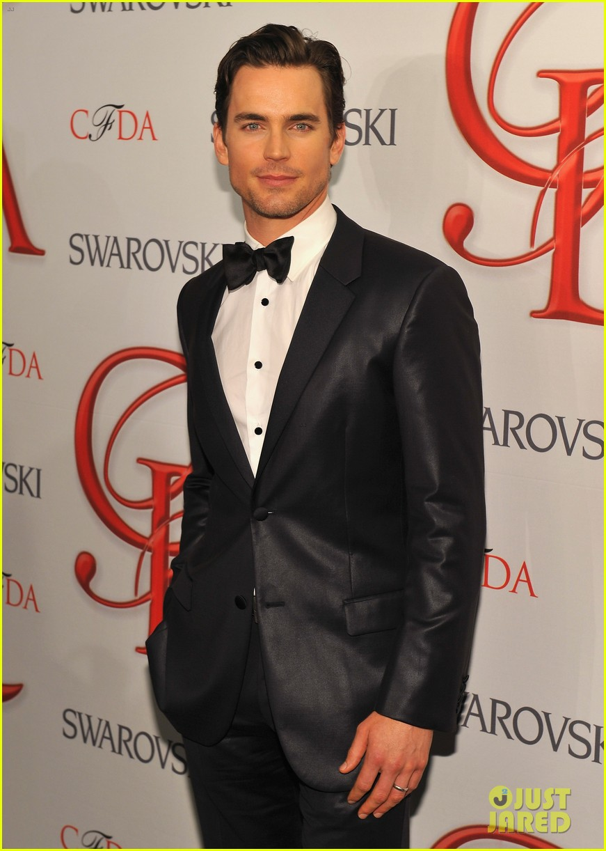 matt bomer jessica pare cfda fashion awards 2012 032670533