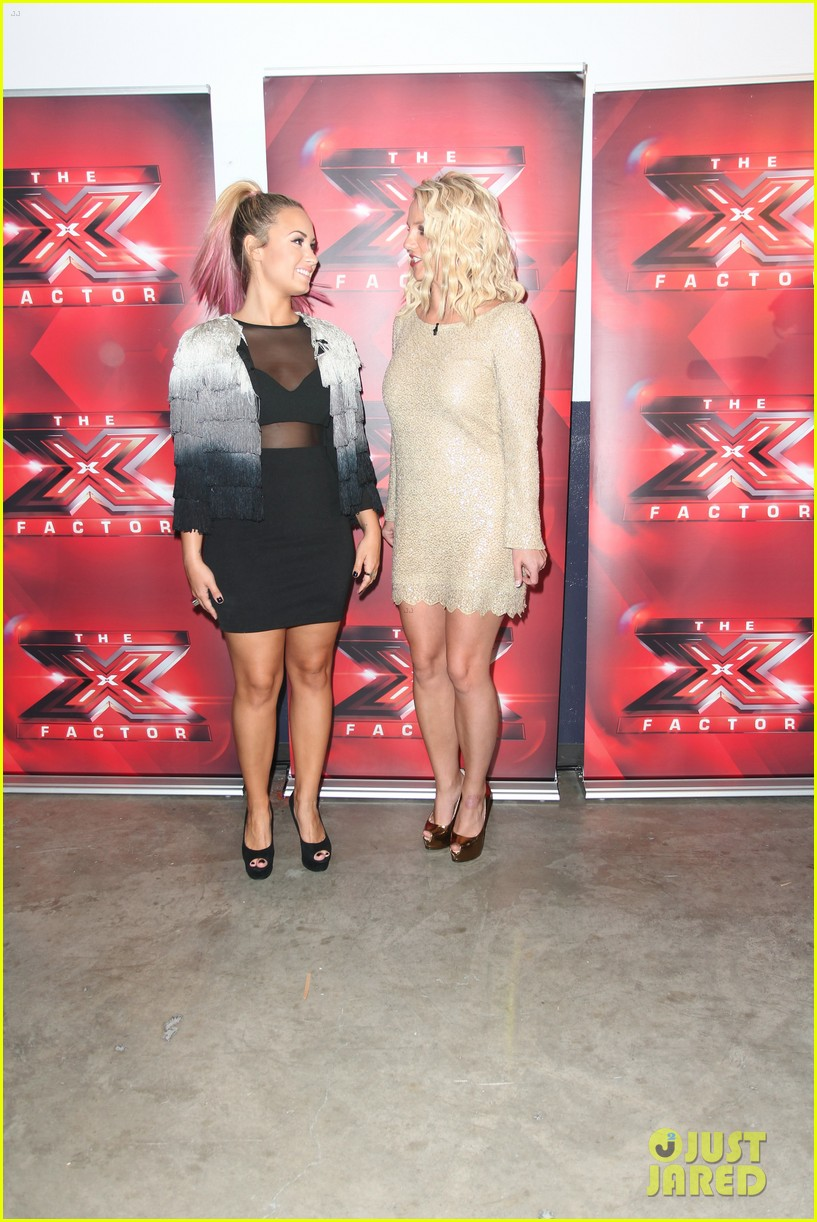 britney spears demi lovato san francisco x factor auditions 012675964