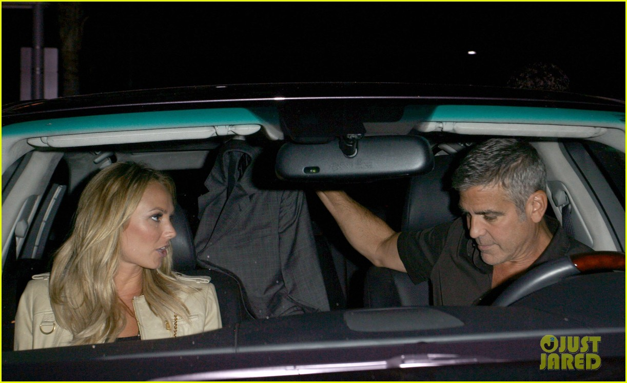 george clooney stacy keibler date night 02