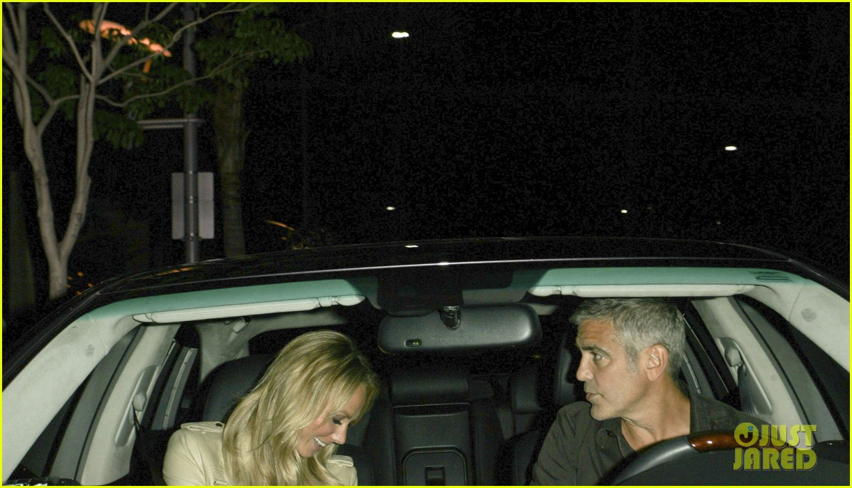 george clooney stacy keibler date night 12