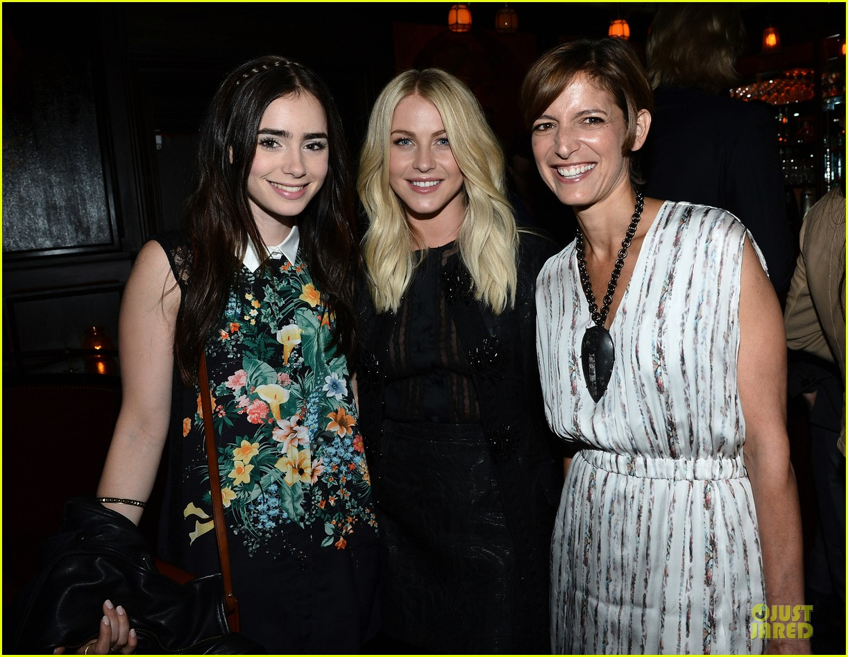 lily collins julianne hough glamour party 04