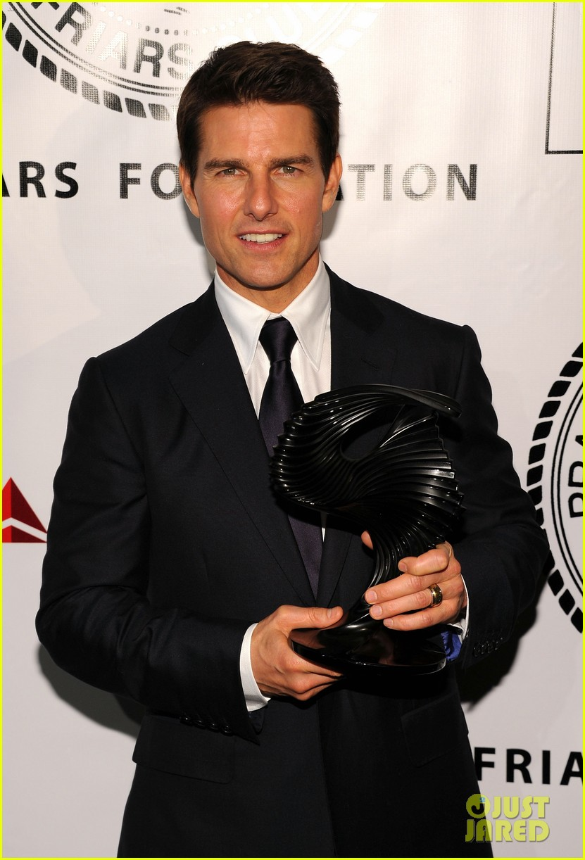 tom cruise friars club ceremony with connor suri 10