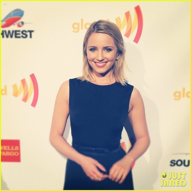 dianna agron glaad awards ashley benson 01