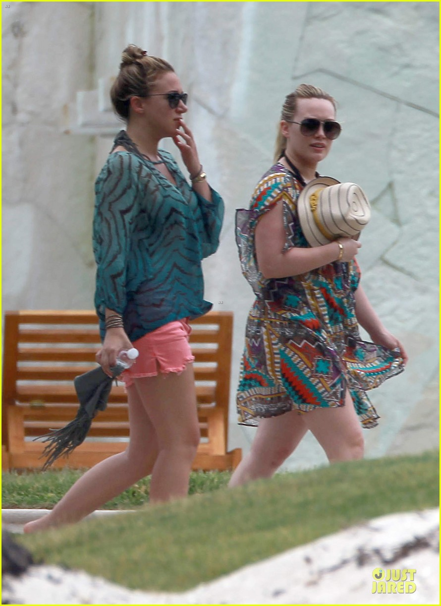 hilary haylie duff mexico getaway 07