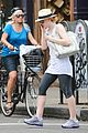 dakota fanning leaving gym 05