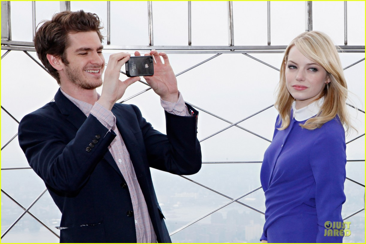 emma stone andrew garfield empire state 08