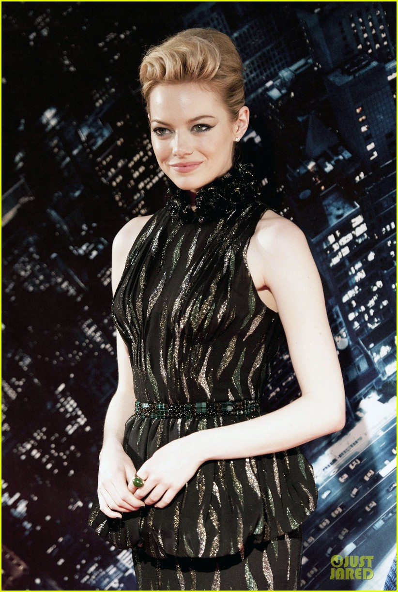 emma stone andrew garfield spider man rome premiere 04