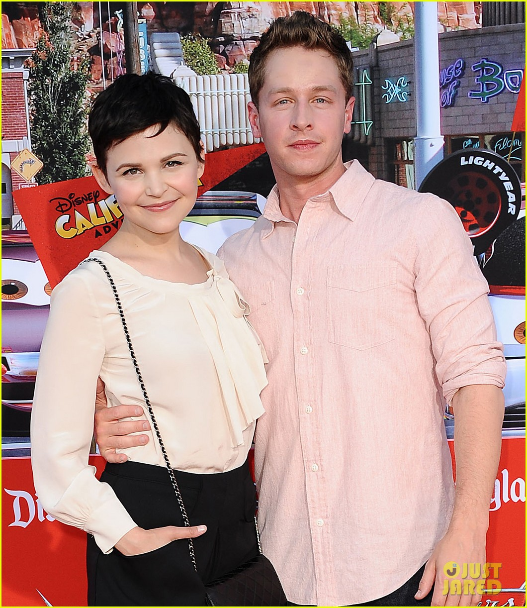 ginnifer goodwin cars land grand opening with josh dallas 05