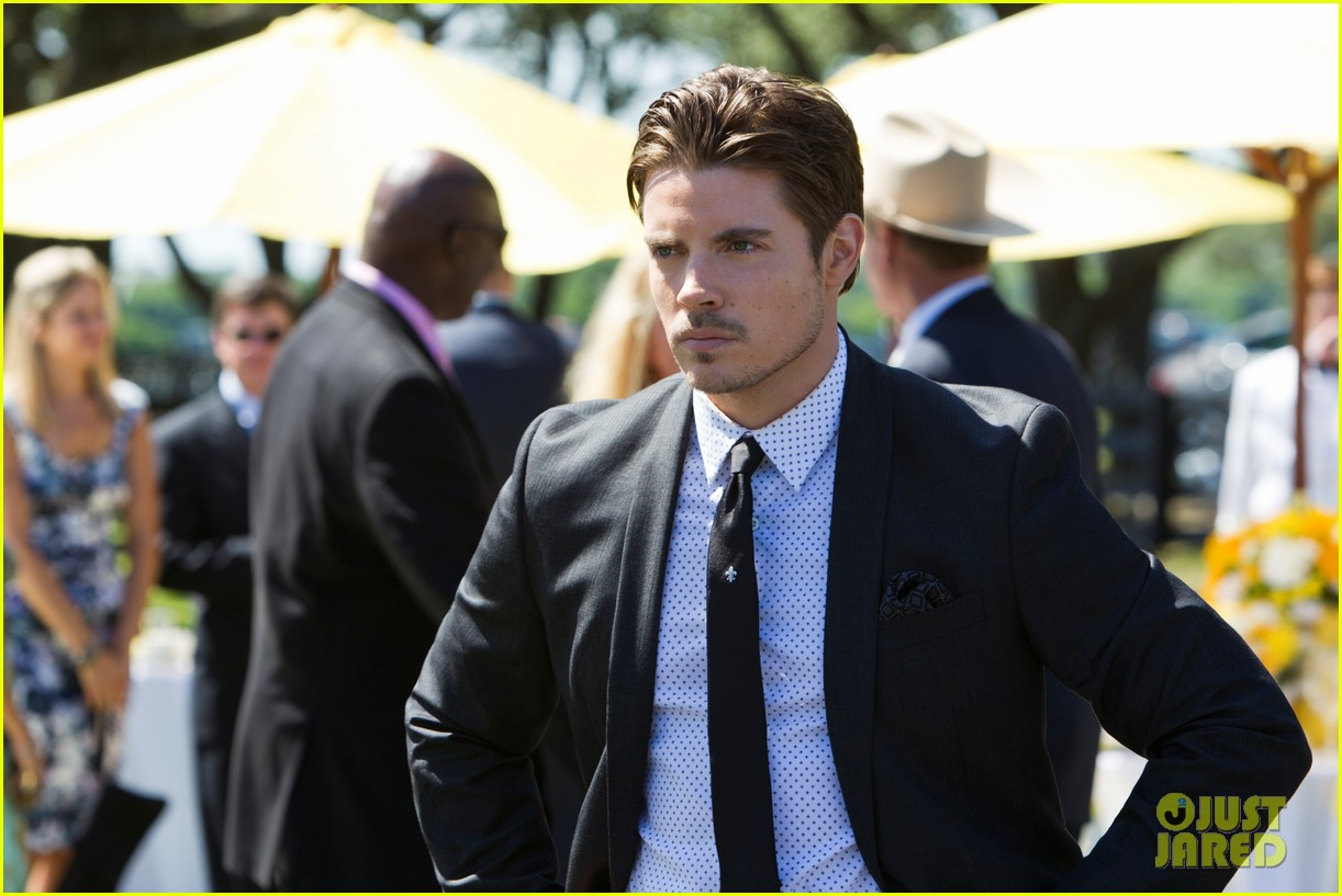 josh henderson shirtless new dallas promo 15