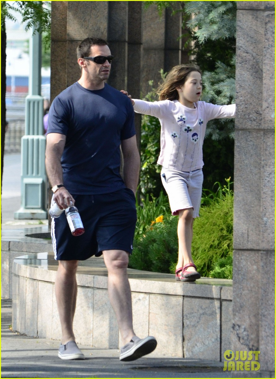 hugh jackman fathers day walk 11