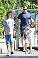 hugh jackman fathers day walk 13