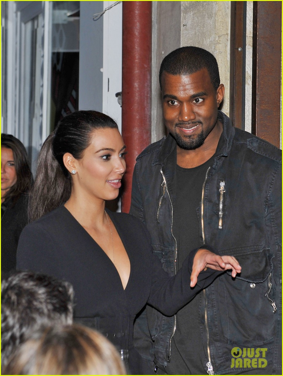 kim kardashian kanye west fancy night out 05