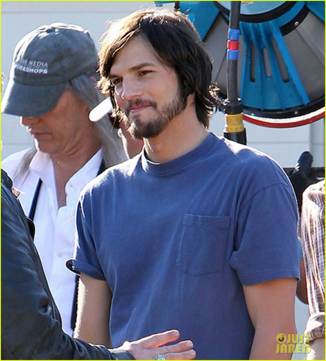 ashton kutcher filming for jobs 07