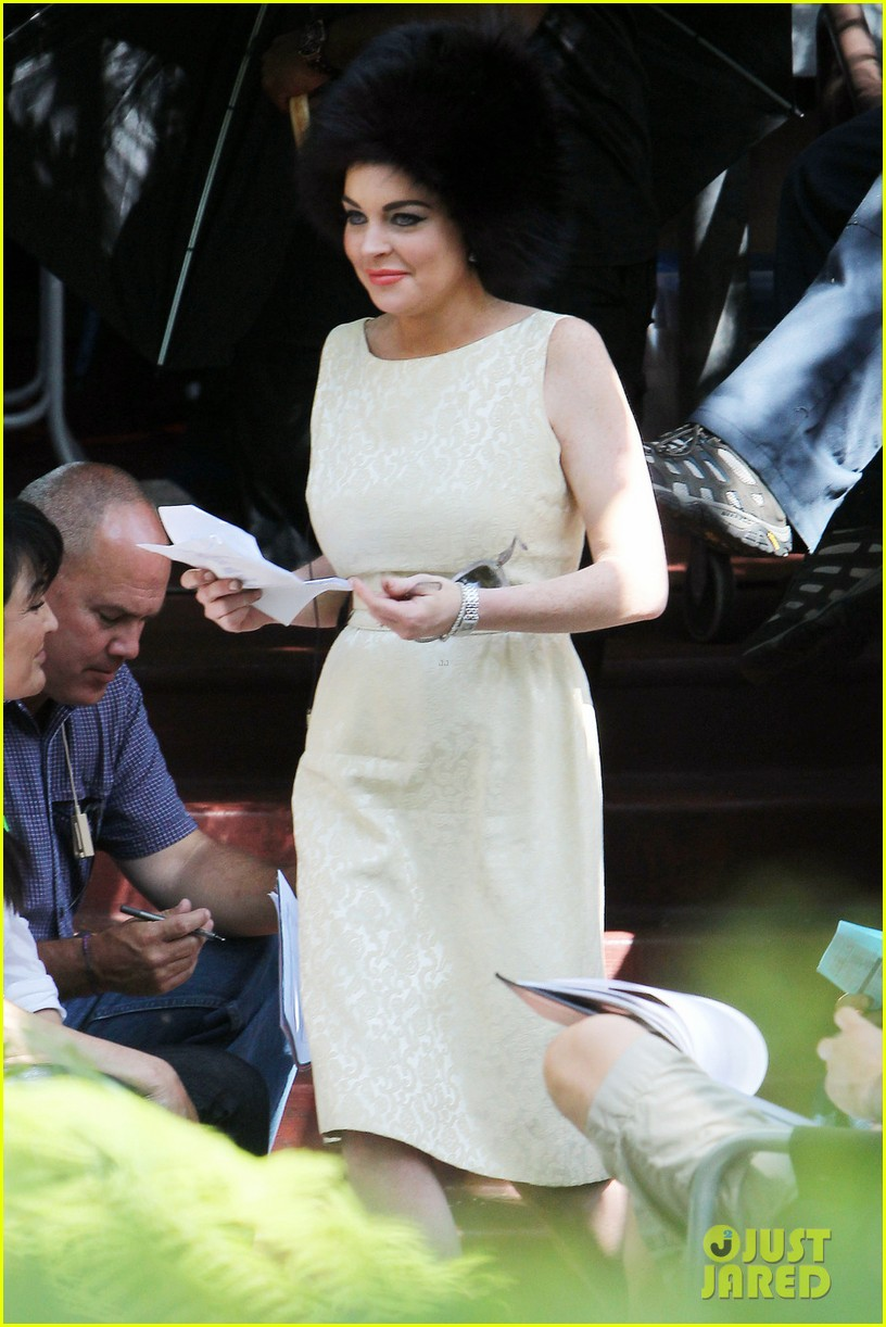 lindsay lohan on set liz dick 03