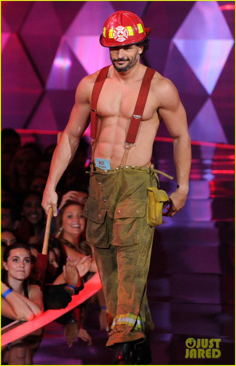 Joe Manganiello shirtless in magic mike