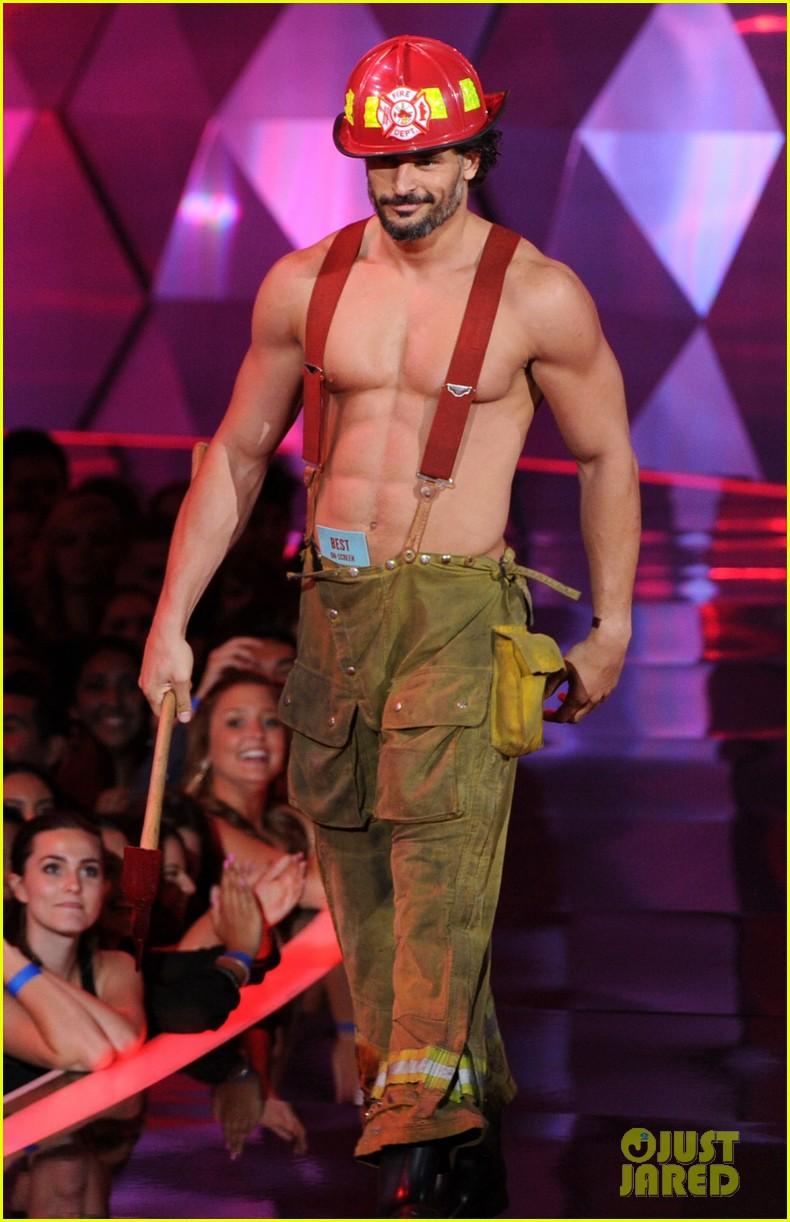 Joe Manganiello shirtless in magic mike