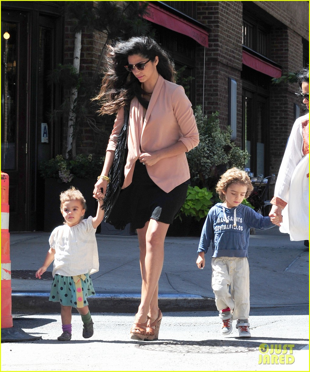 matthew mcconaughey camila alves out and about 082680374
