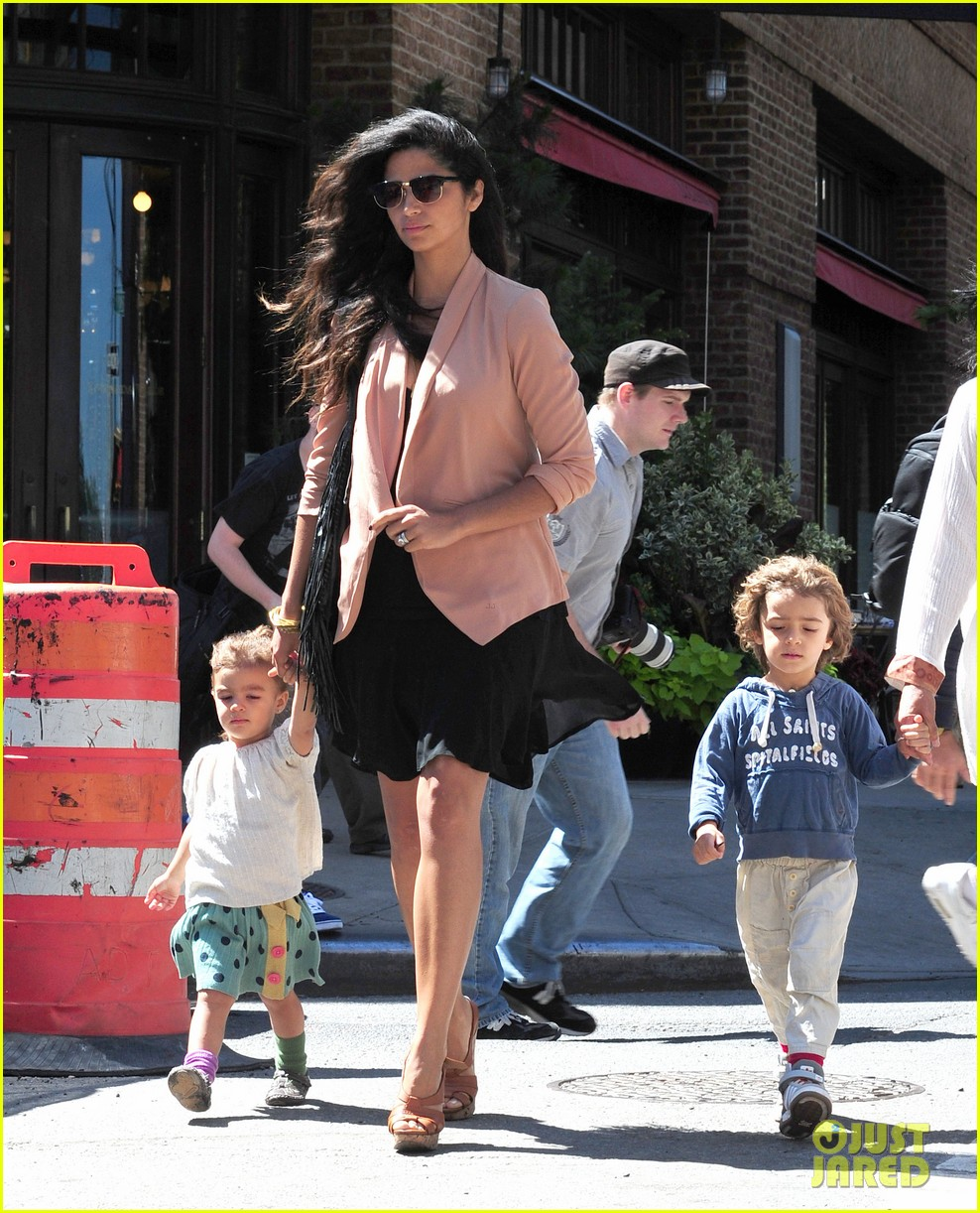 matthew mcconaughey camila alves out and about 12