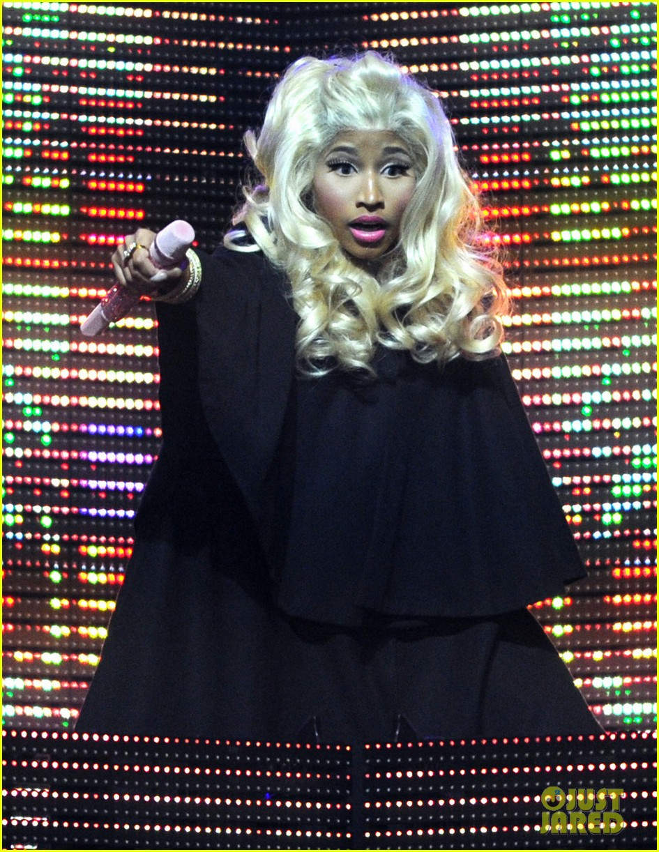 nicki minaj heineken music hall concert 04
