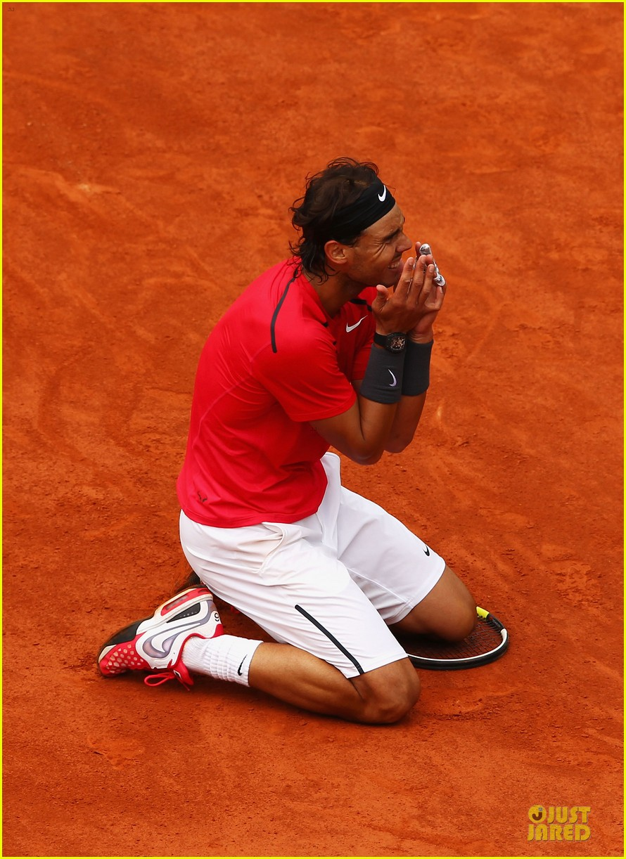 rafael nadal maria sharapova history french open 082673697