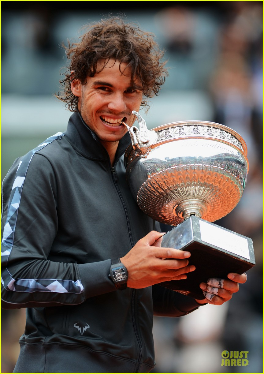 rafael nadal maria sharapova history french open 10