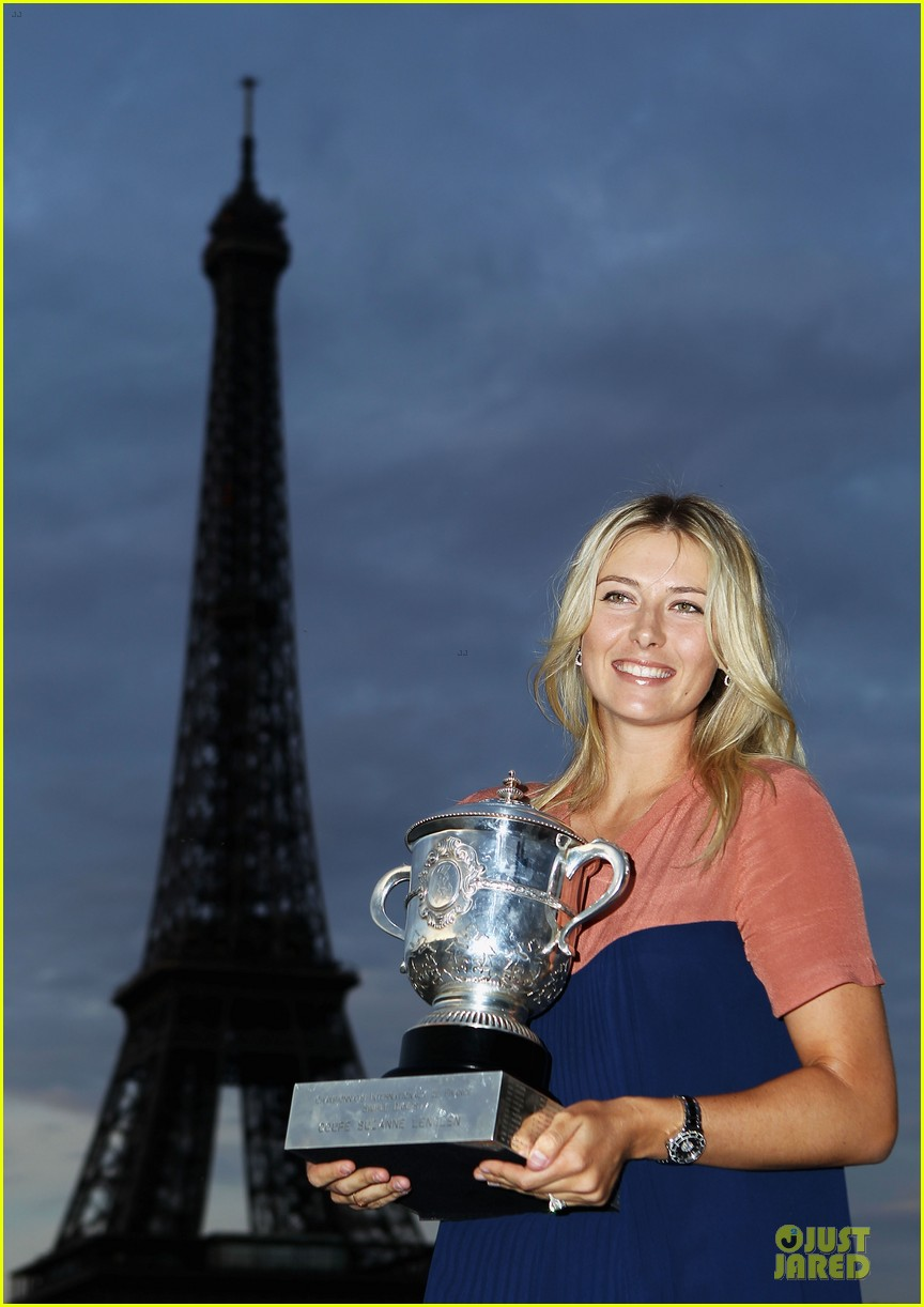 rafael nadal maria sharapova history french open 14