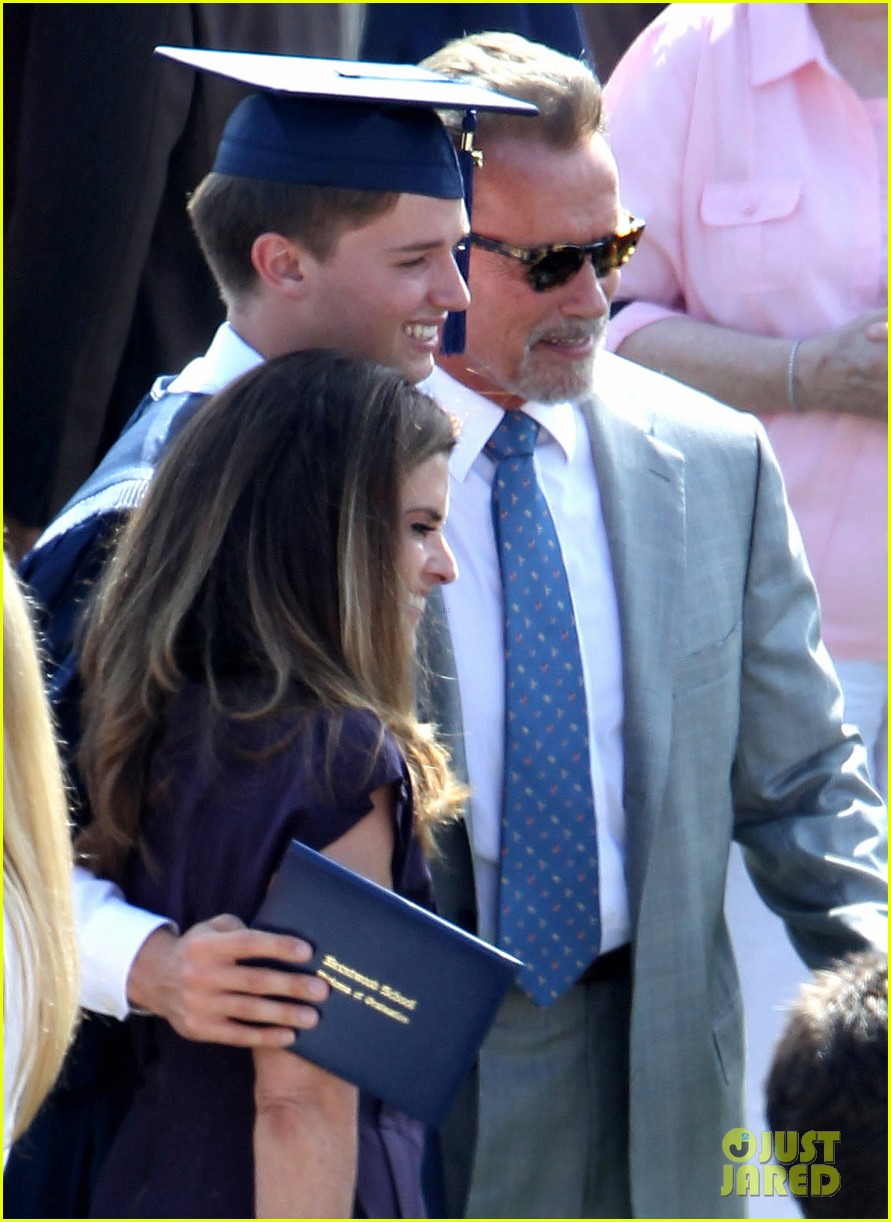 patrick schwarzenegger high school graduation 09