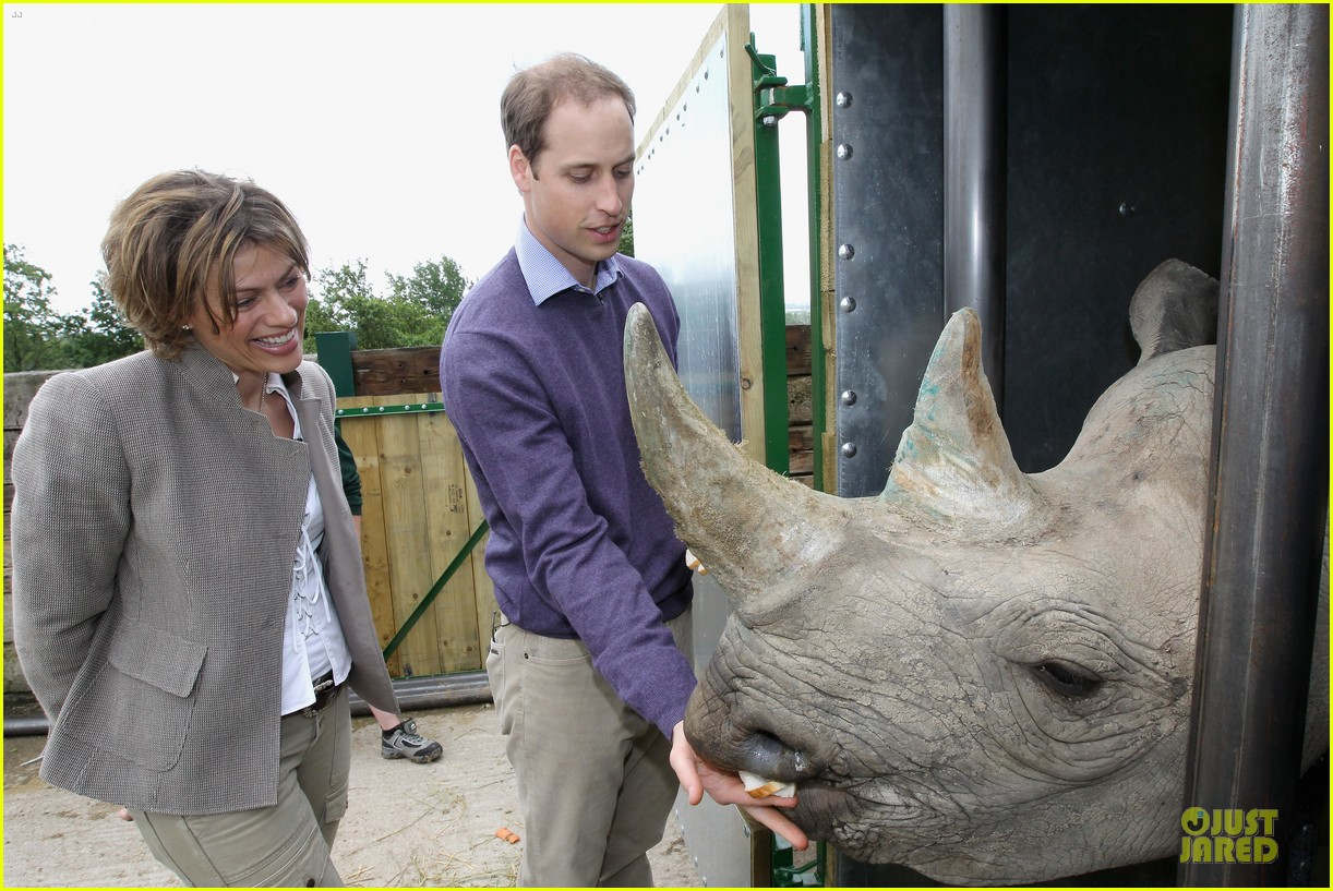 queen elizabeth royal ascot prince william rhino 012677074